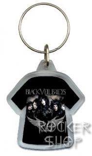 Kľúčenka BLACK VEIL BRIDES-Band Wings Logo