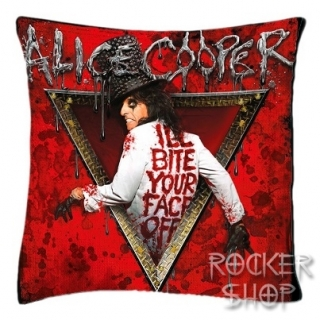 Vankúš ALICE COOPER-I'll Bite Your Face Off