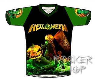 Dres HELLOWEEN futbalový-Straight Out Of Hell