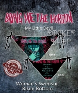 Bikiny BRING ME THE HORIZON-My Little Devil/spodný diel