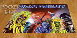 Koberec IRON MAIDEN-Collage