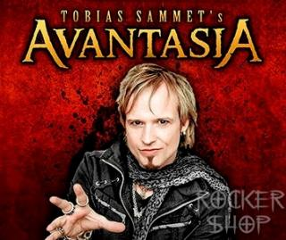 Obrus AVANTASIA-Tobias In Red