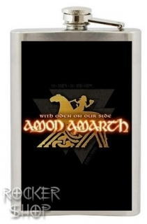 Ploskačka AMON AMARTH-With Oden On Our Side