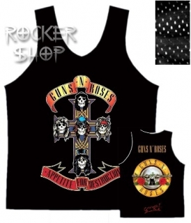 Dres GUNS N´ROSES basketbalový-Appetite For Destruction