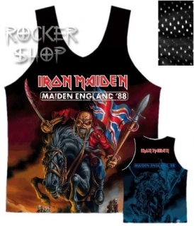 Dres IRON MAIDEN basketbalový-Maiden England