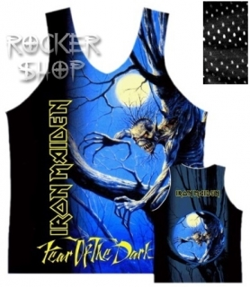 Dres IRON MAIDEN basketbalový-Fear Of The Dark