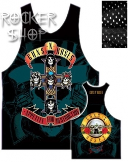 Dres GUNS N´ROSES basketbalový dámsky-Appetite For Destruction