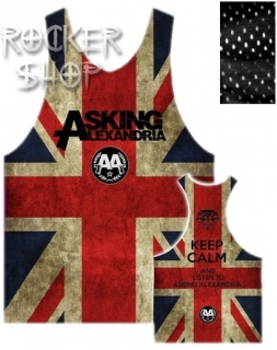 Dres ASKING ALEXANDRIA basketbalový dámsky-UK Logo