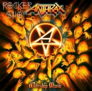 CD ANTHRAX-Worship Music