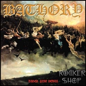 LP BATHORY-Blood Fire Death