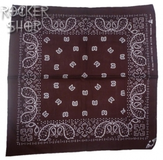 Šatka PAISLEY-Brown