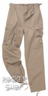 070e56a887c6 Vojenske kapsáčové nohavice. Dve. Kapsáče béžové RANGER