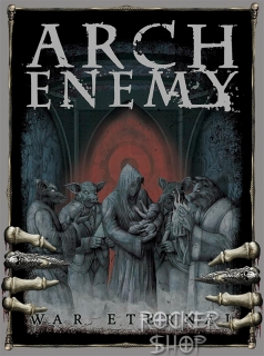 Nášivka ARCH ENEMY chrbtová-War Eternal/Hands