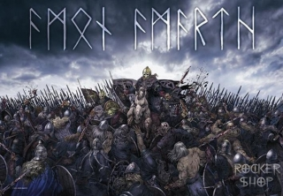 Vlajka AMON AMARTH-War
