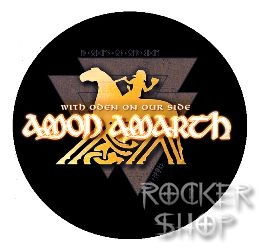 Odznak AMON AMARTH-With Oden On Our Side