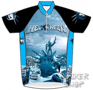 Dres HELLOWEEN cyklistický-My God Given Right