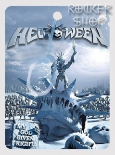 Visačka HELLOWEEN-My God Given Right