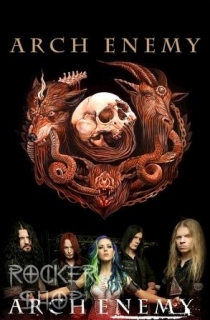 Vlajka ARCH ENEMY-Will To Power