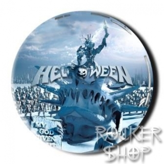 Nálepka HELLOWEEN 3D-My God Given Right