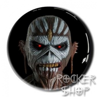 Nálepka IRON MAIDEN 3D-Book Of Souls