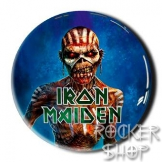 Nálepka IRON MAIDEN 3D-Book Of Souls Blue