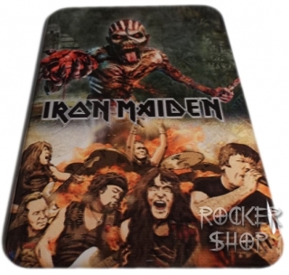 Nálepka IRON MAIDEN na mobil-Book Of Souls Band