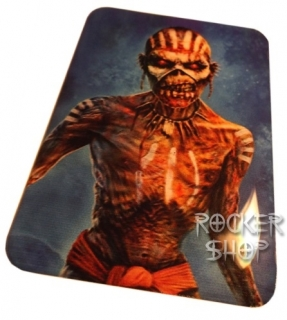 Nálepka IRON MAIDEN na mobil-Book Of Souls Blue