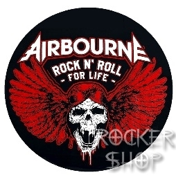Odznak AIRBOURNE-Rock N´Roll For Life