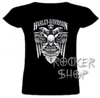 7701d075e2 Tričko HARLEY DAVIDSON dámske-Motorcycles BW