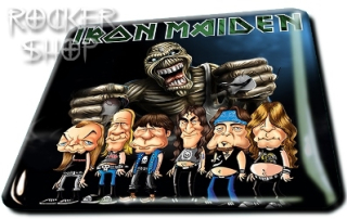 Magnetka IRON MAIDEN 3D-Caricature