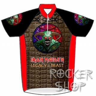 Dres IRON MAIDEN cyklistický-Legacy Of The Beast