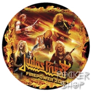 Nažehľovačka JUDAS PRIEST-Firepower