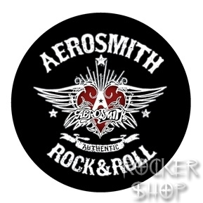 Odznak AEROSMITH-Rock And Roll
