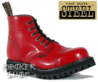 Topánky STEEL z ROCKERshopu-kvalitná celokožená obuv s oceľovou špicou 60bd52ed2c