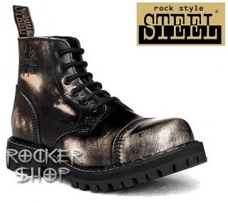 Topánky STEEL-6 dierkové z ROCKERshopu 6a9b96a8a9