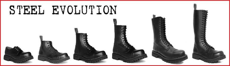 Topánky STEEL z ROCKERshopu-kvalitná celokožená obuv s oceľovou špicou 4bd2992b82
